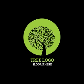 Tree Logo Logótipo template