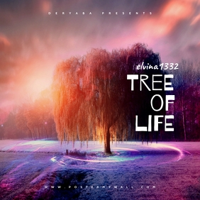 Tree of life Fantasy Mixtape Cover