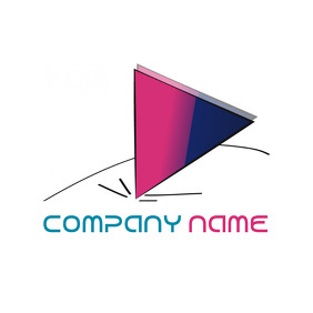 Triangle logo/ construction logo