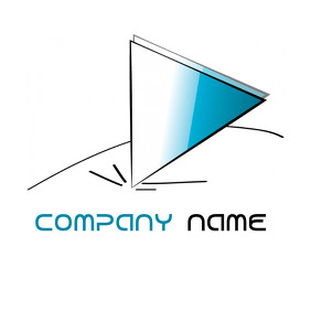 triangle logo/ construction logo