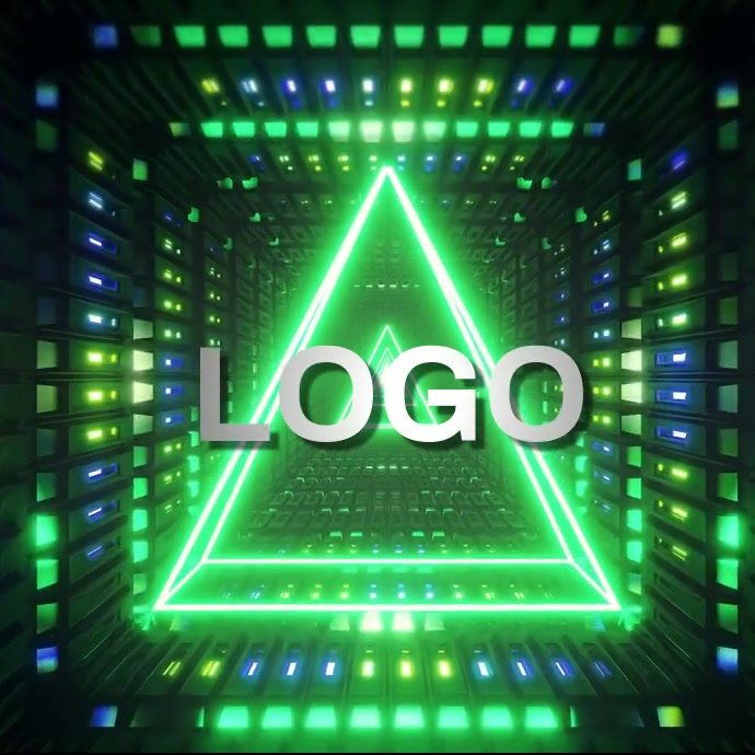 TRIANGLE LOGO TEMPLATE Instagram na Post