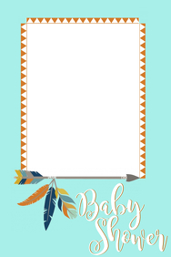 Tribal Party Prop Frame