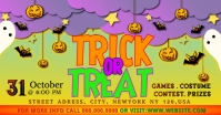 trick or treat Facebook Ad template