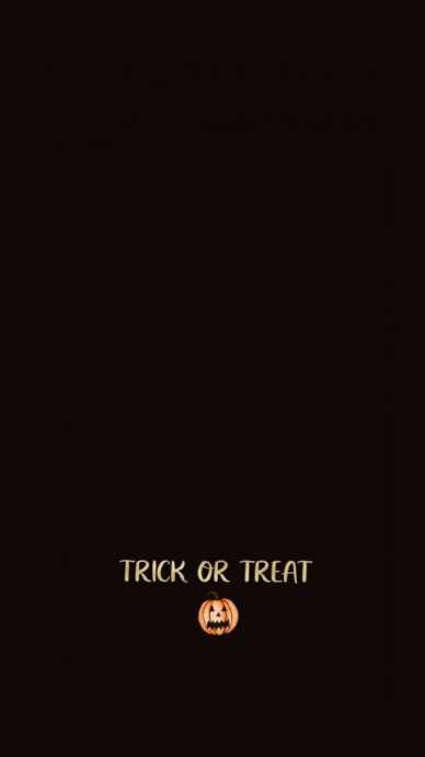 Trick or Treat Instagram Story template