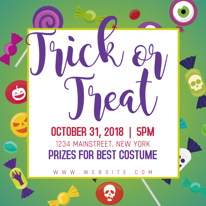 Trick or Treat for Kids