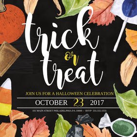 trick or treat ปกอัลบั้ม template