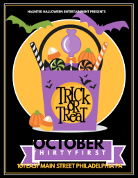 photo relating to Free Printable Halloween Party Flyers named Personalize 3,350+ Halloween Templates PosterMyWall