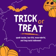 Trick or Treat Templates Instagram na Post
