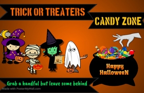 Trick or Treaters Sign