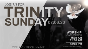 TRINITY Sunday Church Event Flyer Template