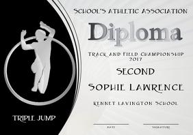 triple jump diploma second