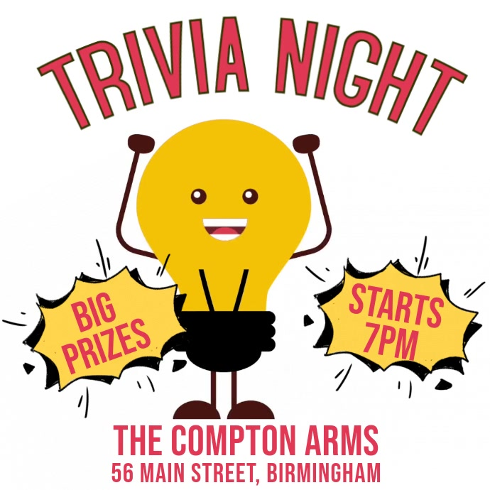 Trivia Night Digital Template