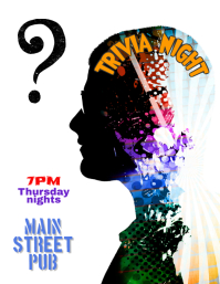 Trivia Night Quiz Competition Event Flyer Template
