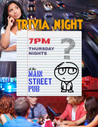 Trivia Night Event Flyer
