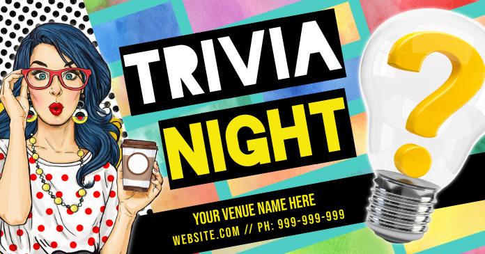 Trivia Night Facebook Cover Photo