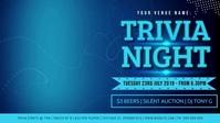 Trivia Night Facebook Video Event Cover Facebook-Covervideo (16:9) template