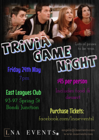 Trivia Night Flyer