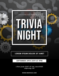 Trivia Night Flyer Template