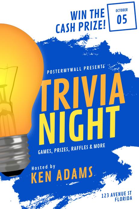 Trivia Night Flyer Template
