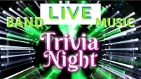 Trivia Night Pyschodelic Video Digital Display (16:9) template