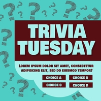 Trivia Tuesday Wpis na Instagrama template
