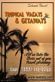Tropical Getaways Poster