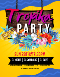 Tropika Party Flyer