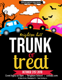 Truck or treat Flyer (US Letter) template