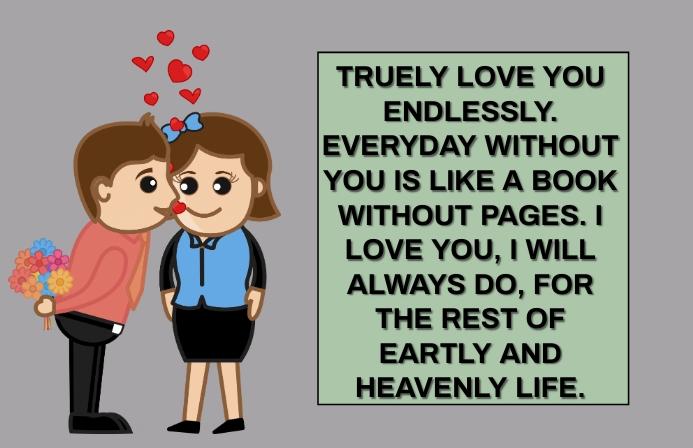 TRUE LOVE QUOTE TEMPLATE Tabloid