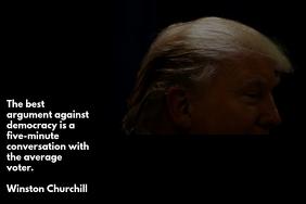 Trump & Democracy - Landscape