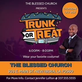 TRUNK OR TREAT CHURCH FLYER