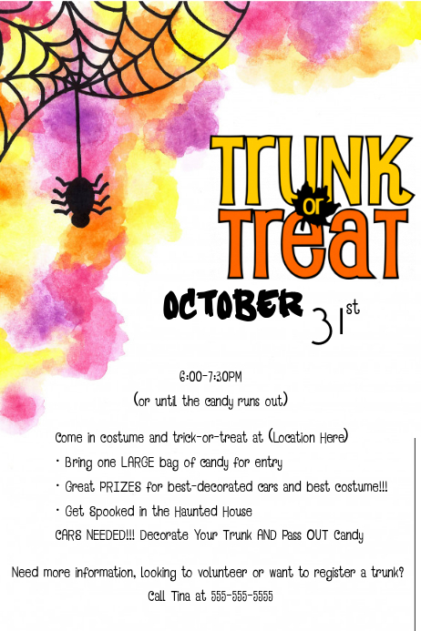 trunk or treat template