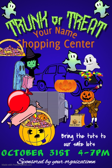 Trunk or Treat Poster Template