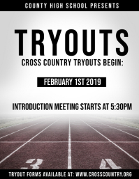 Tryouts : Track,Cross Country, etc.