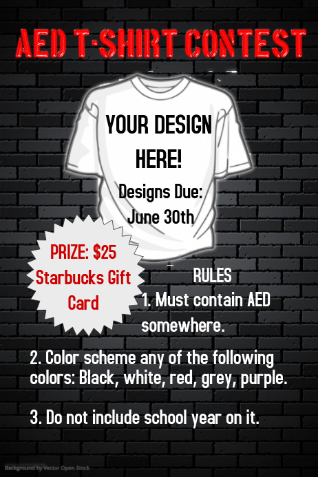 T Shirt Contest Poster Template | PosterMyWall