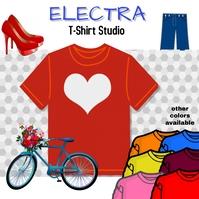 Tshirts, print on demand, online shopping, Сообщение Instagram template