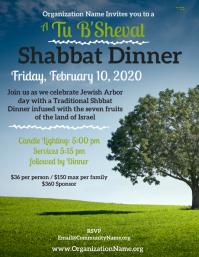 Tu B'Shevat Shabbat dinner