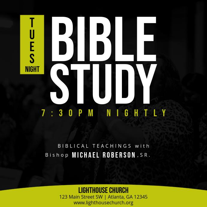 Tues Night Bible Study