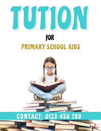TUITION FOR KIDS POSTER