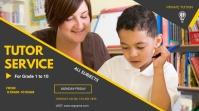 Tuition Service flyer Presentazione (16:9) template