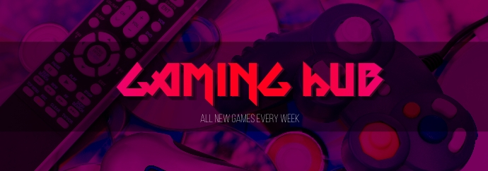 Tumblr banner for gaming template