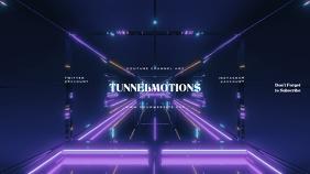 Tunnel Gamer Youtube Channel Art Banner