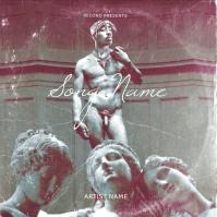 Tupac Sexy album cover art design template