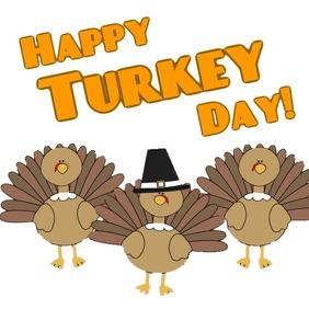 Turkey Day Greeting Publicación de Instagram template