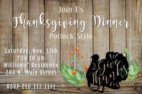 Turkey Dinner Invite