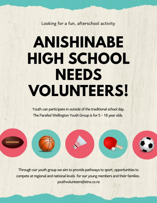 tutor volunteers flyer template postermywall