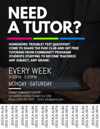 Tutoring Service Flyer