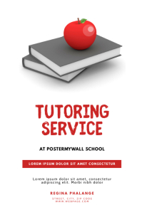 Tutoring Service Flyer Template