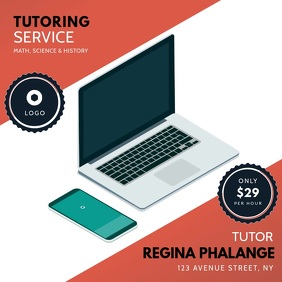 tutoring service instagram video template