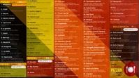 TV restaurant menu Digital Display (16:9) template